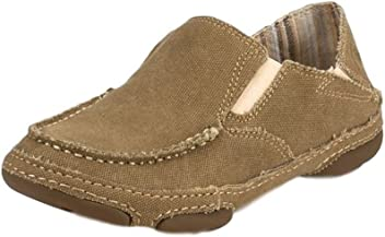 Tony Lama RR3025L Womens 3R Canvas Casual Shoes - Wheat
