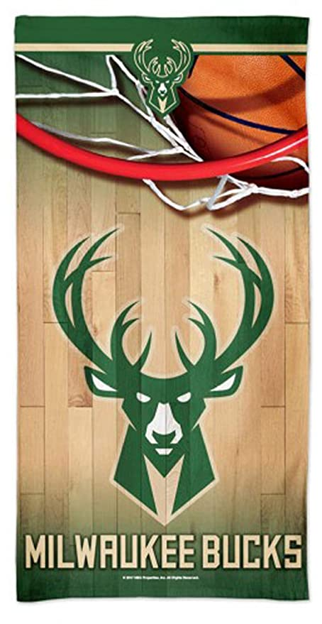 Wincraft Milwaukee Bucks Beach Towel With Spectra Graphics 30x60 Inches Amazon In Sports Fitness Outdoors