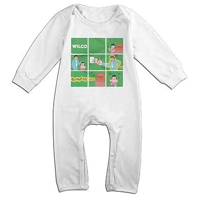 ff65946b96 Amazon.com  WILCO Schmilco Baby Onesie Romper Jumpsuit Bodysuits  Clothing