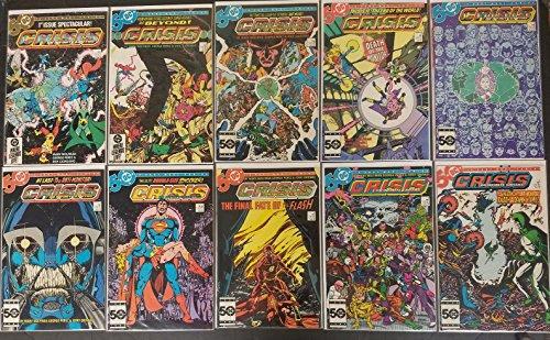 Crisis on Infinite Earths #1-12 Complete Set Full Run Very Fine DC Comics 1985