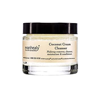 evanhealy Ayurvedic Coconut Cream Cleanser Makeup Remover Moisturizer  Conditioner with Certified