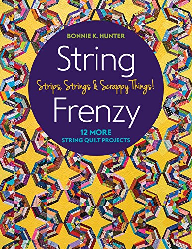 (String Frenzy: 12 More Strip Quilt Projects; Strips, Strings & Scrappy Things!)