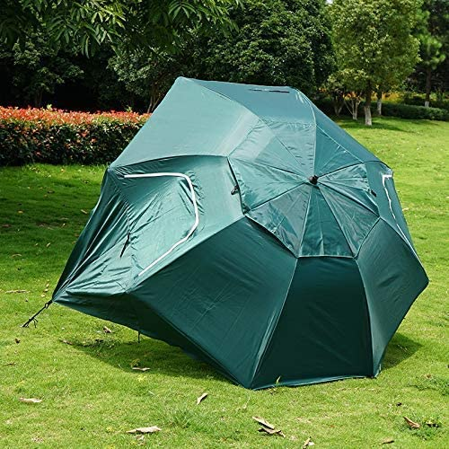 WYJW Parasol al Aire Libre Parasol Grande Sombrilla Sombrilla Sombrilla de Pesca Playa Tienda de campaña Pérgola Paraguas Impermeable a Prueba de Viento, Verde LOLDF1 (Color: Rojo): Amazon.es: Hogar