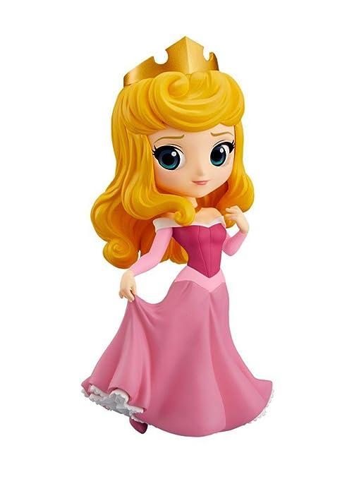 Banpresto Q posket Disney Characters Princess Aurora All 2type Normal ver   14cm