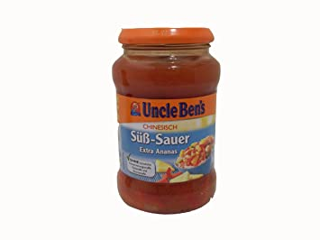 Amazon Com Uncle Ben S Chinesisch Sa Aÿ Sauer Sauce Mit Ananas