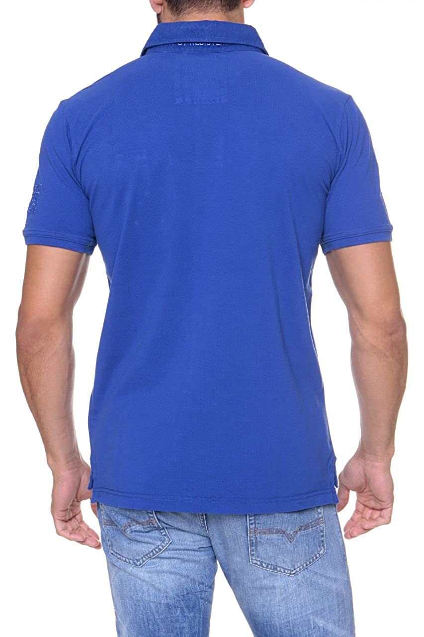 State of Art Polo ROMA para hombre, Color: Azul, Talla: XXL ...