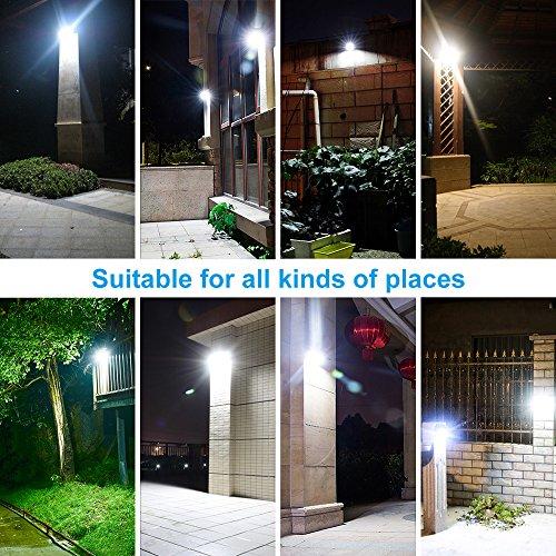 KEYNICE Solar Motion Sensor Lights Outdoor Solar Security Lights with 3 Mode, 33 LED Lights, Waterproof Solar Powered Wall Lights for Outdoor Wall, Back Yard, Fence, Garage, Garden, Driveway by KEYNICE (Image #4)