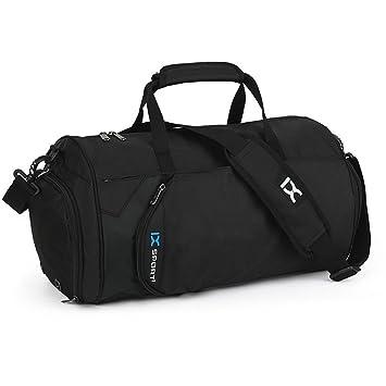 Sacs de sport 22L Sports Duffels Bag Sacs imperméables Sacs de voyage cross-body avec compartiment à chaussures nDXPwV0tp3