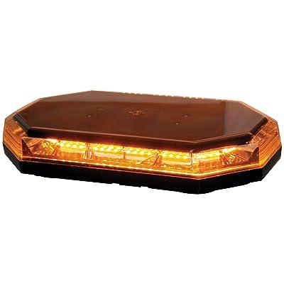 "Buyers Products (8891060) Amber 15"" x 8.25"" x 3"" 10V-30V DC Mini LED Light Bar: Automotive"