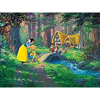 Ceaco Disney Snow White Fine Art A Sweet Goodbye Puzzle 550 Piece By Ceaco
