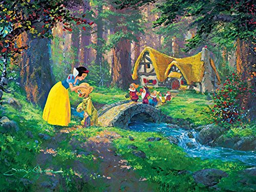 Ceaco Disney Snow White Fine Art A Sweet Goodbye Puzzle (550 Piece)