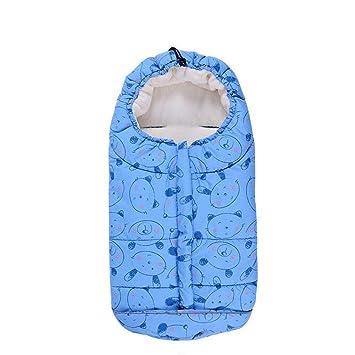 FJY Saco De Invierno Dormir Térmico para Carrito Silla De Bebé,Cochecito De Dormir Adecuado