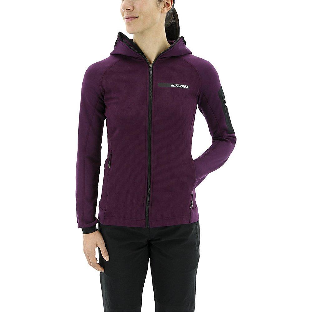 order 100% top quality footwear adidas Outdoor Women's Terrex Stockhorn Hooded Fleece Jacket ...