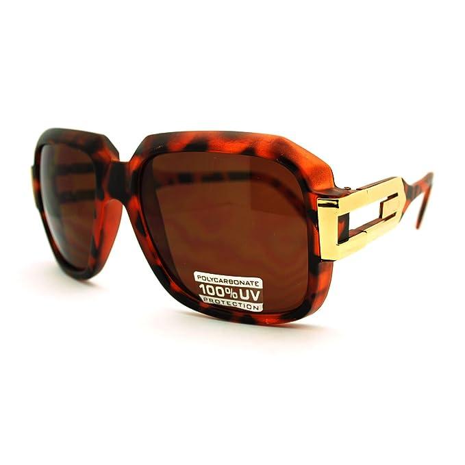 Amazon.com: HIP HOP rapero – Gafas de sol Oversized cuadrado ...