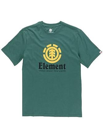 Element Vertical T-Shirt Größe: S Farbe: GrŸn