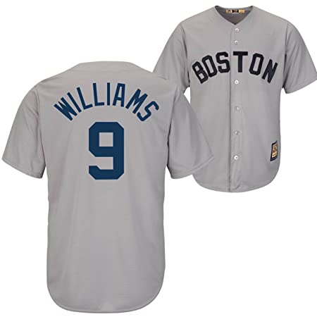 184c6cb54 Amazon.com : Majestic Ted Williams Jersey - Boston Red Sox Cooperstown T :  Sports Fan Apparel : Sports & Outdoors