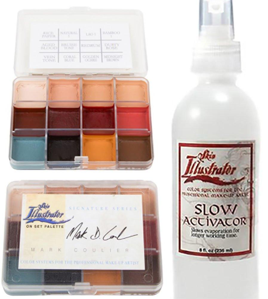 Skin Illustrator On Set Palette Mark Coulier and Slow Activator Bundle
