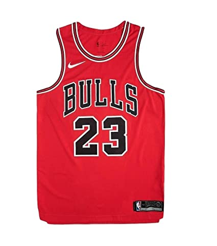 Impresionismo Sucio Decimal  Buy Nike Men's Chicago Bulls Michael Jordan #23 Authentic Basketball Jersey  Icon Edition AO2915-657 (XXX-Large) Online at Low Prices in India -  Amazon.in