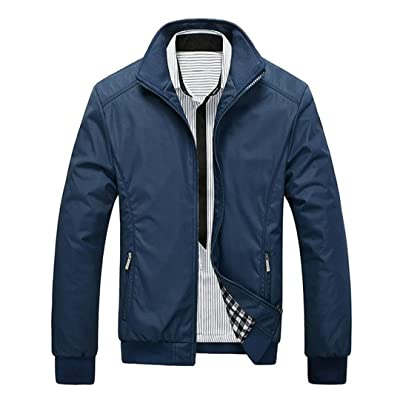 Men's Casual Jacket Spring Regular Slim Jacket Coat for Male Wholesale