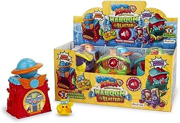 SuperZings - Serie 3 - Caja de 6 Kaboom Blaster (PSZSD661IN00) con Sonido y Figura Exclusiva, Color y Modelo Surtido: Amazon.es: Juguetes y juegos