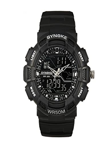dreaman diseño elegante Función Multi militares Digital LED cuarzo reloj para la práctica de deportes (resistente al agua: Amazon.es: Relojes