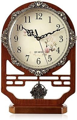 Sunhai Large Watches And Clocks The Clock Living Room Retro Decoration Mute Pendulum Clock Creative Desktop Clock Taiwan Bell Decoration