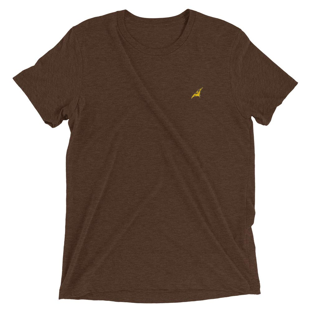 Pocket Print - for Paleontology and Dino Nerds Unisex T-Shirt Embroidered Pterodactyl Dinosaur -