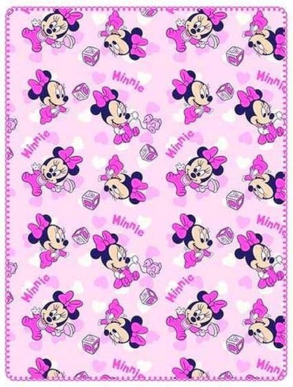 Plaid polaire Minnie Mouse couverture enfant BD