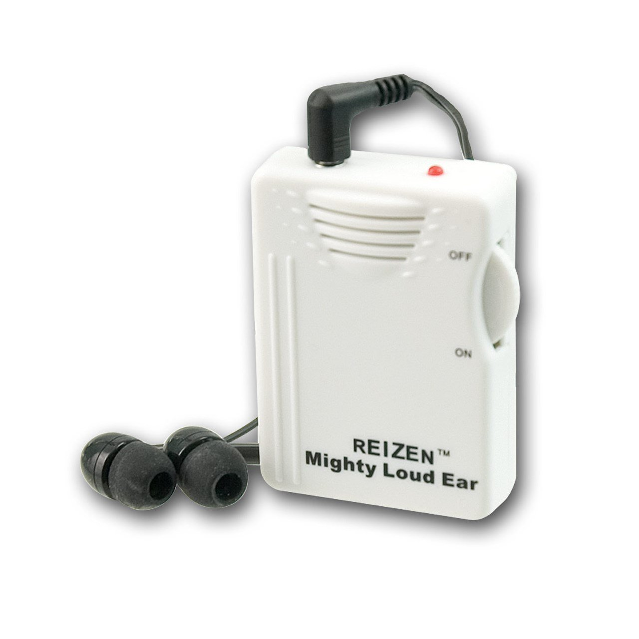 Reizen Mighty Loud Ear 120dB Personal Sound Hearing Amplifier by Reizen