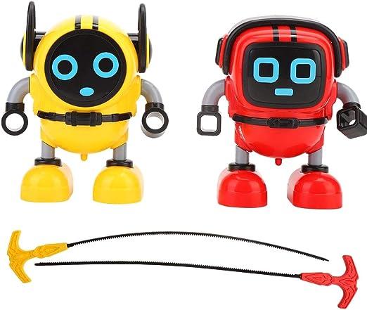 Daxoon Robot Spinning Top Mini Robot Gyroscope Spinning Toys ...