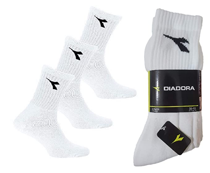 various design top quality latest Diadora Sport Tennis D9000 Men's Socks 3 Pairs Cotton Terry ...