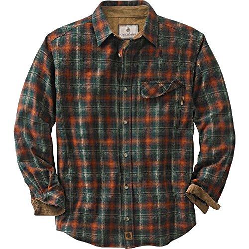 Redwood Apparel (Legendary Whitetails Men's Buck Camp Flannel Shirt (Redwood Plaid, XXXX-Large))