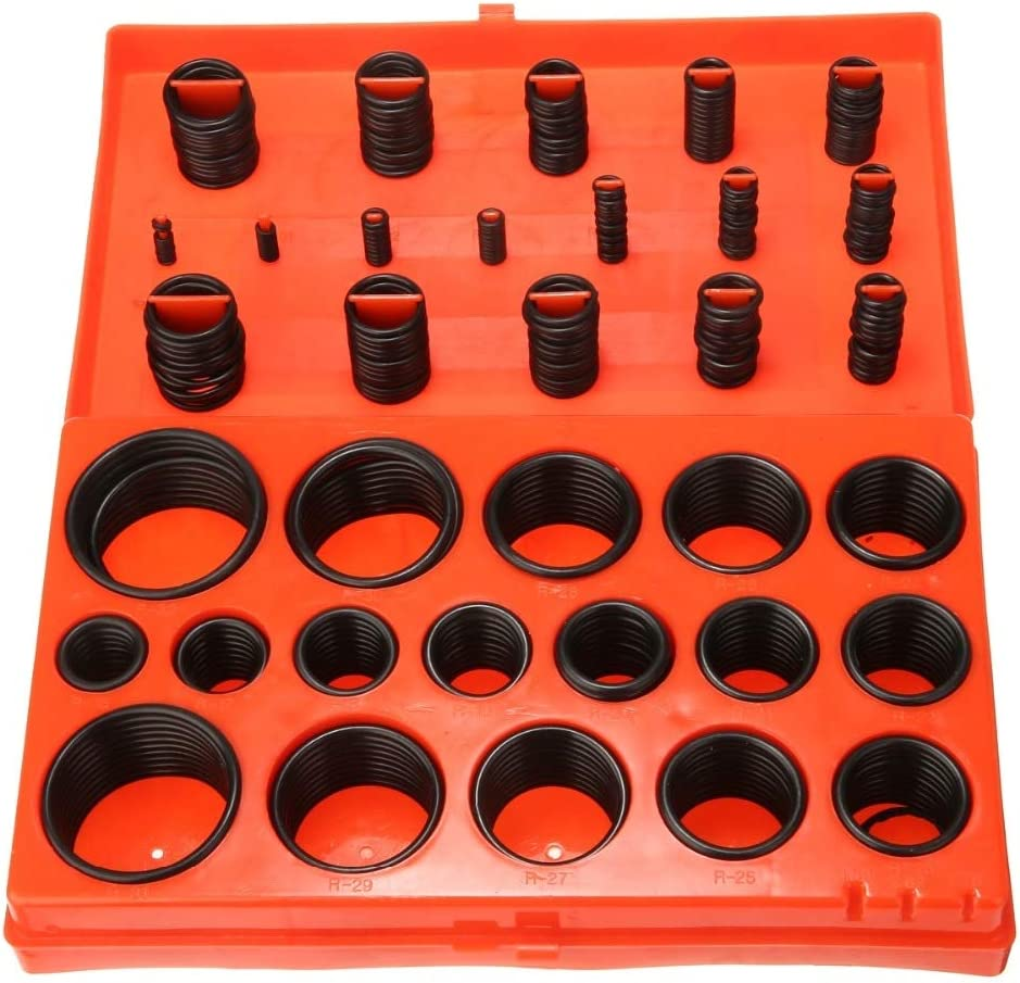 Universal O-Ring Assortment Metric Kit Car Hand Tool Seal Rubber Gasket 419pcs
