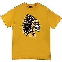 FameStoned-Kızılderili Baskılı Tshirt