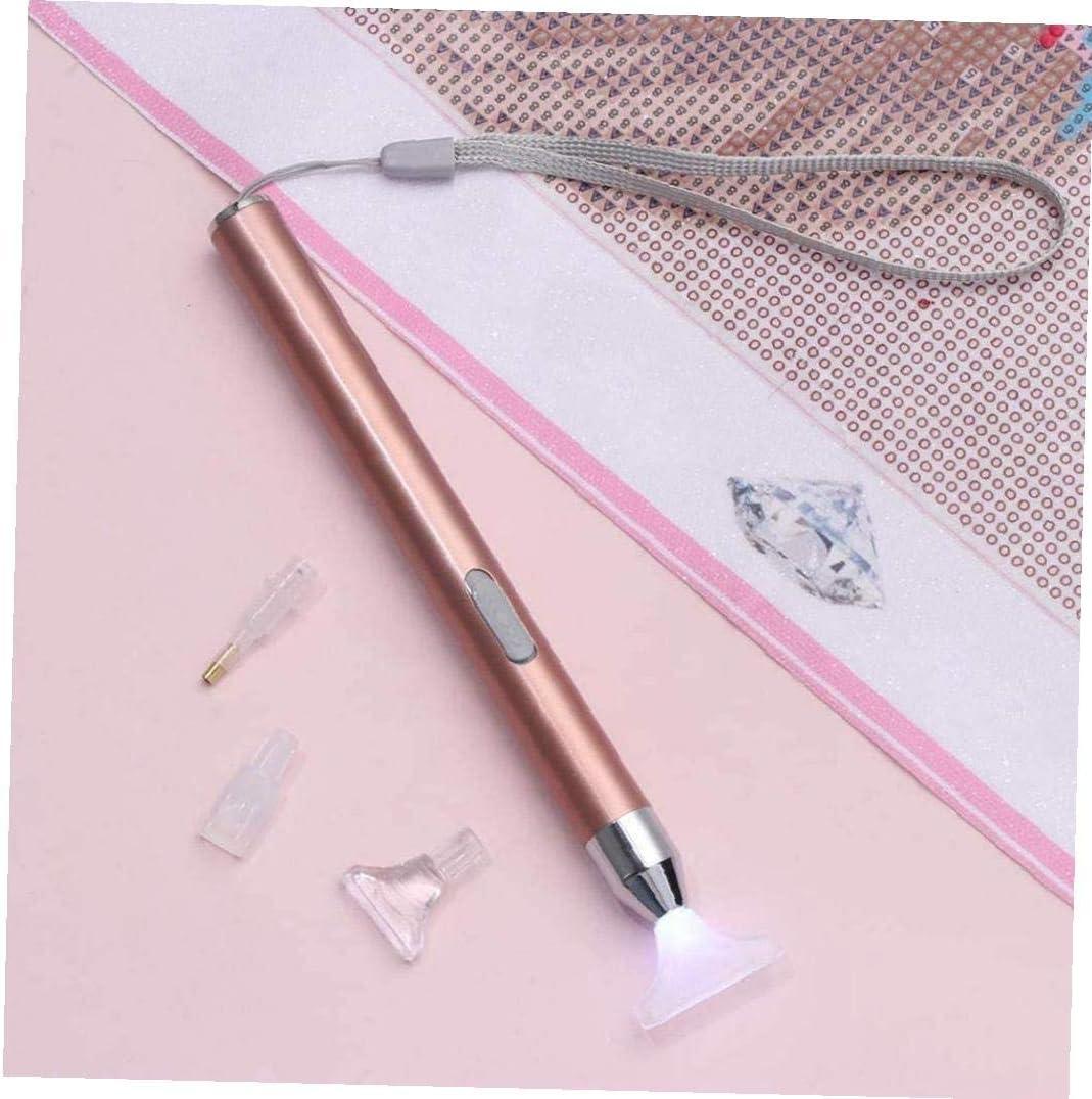 Diamante pittura punto di foratura della pittura della penna Mestieri Accessori di cucito USB ricaricabile Strumenti ricamato Pen Punto Croce Ricamo