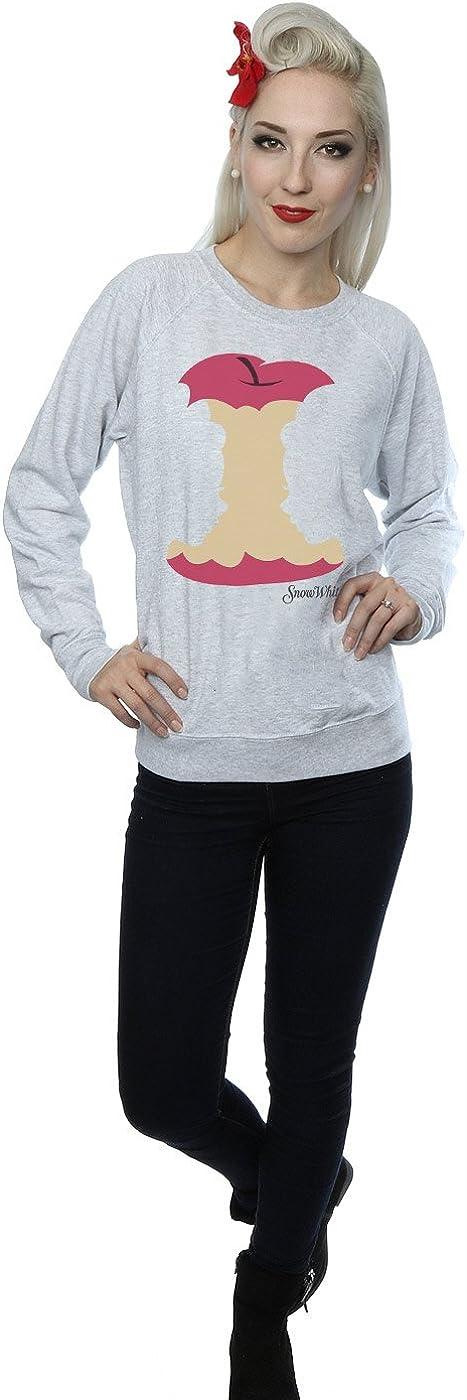 Disney Damen Princesses Snow White Silhouette Sweatshirt Heather Grey