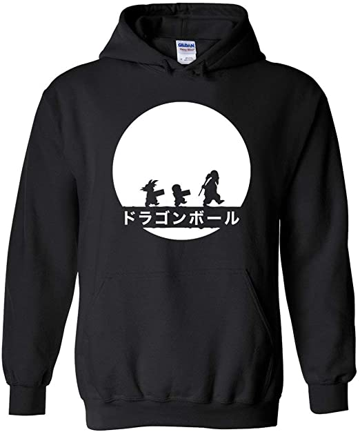 DRAGON MASTER Hooded Sweatshirt Special Print Black