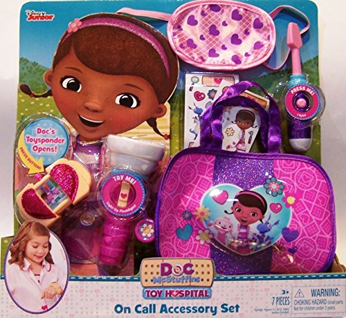 Doc McStuffins Toy Hospital On Call Accessory Set]()