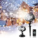 Exokfa Christmas Snowflake Projector Light