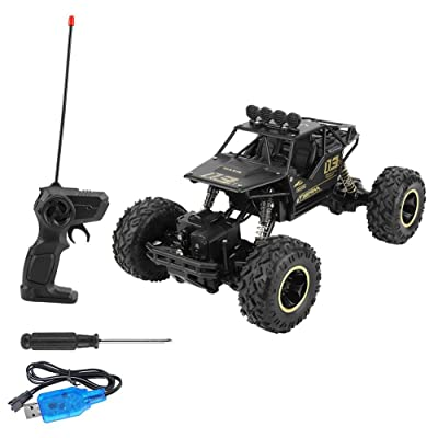 Tnfeeon Remote Control Car Toy, Four-Wheel Drive Rock Climber Car 1:16 Scale RC Off-Road Car for Adults & Kids: Toys & Games