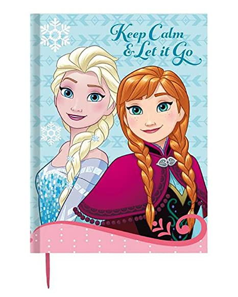 FROZEN de DISNEY Agenda escolar tamaño A5: Amazon.es ...