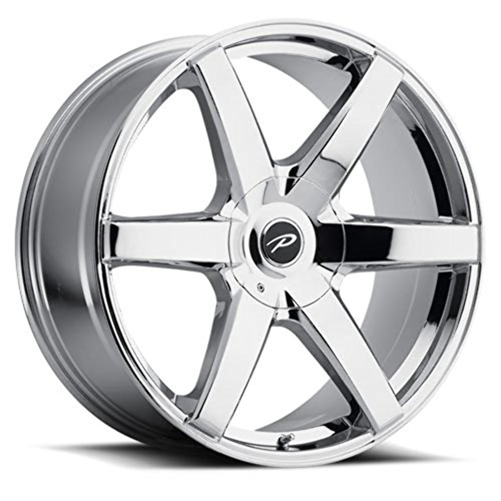 Pacer 785V Ovation Wheel with Chrome Finish (20x9''/6x5.50'', +25mm Offset)