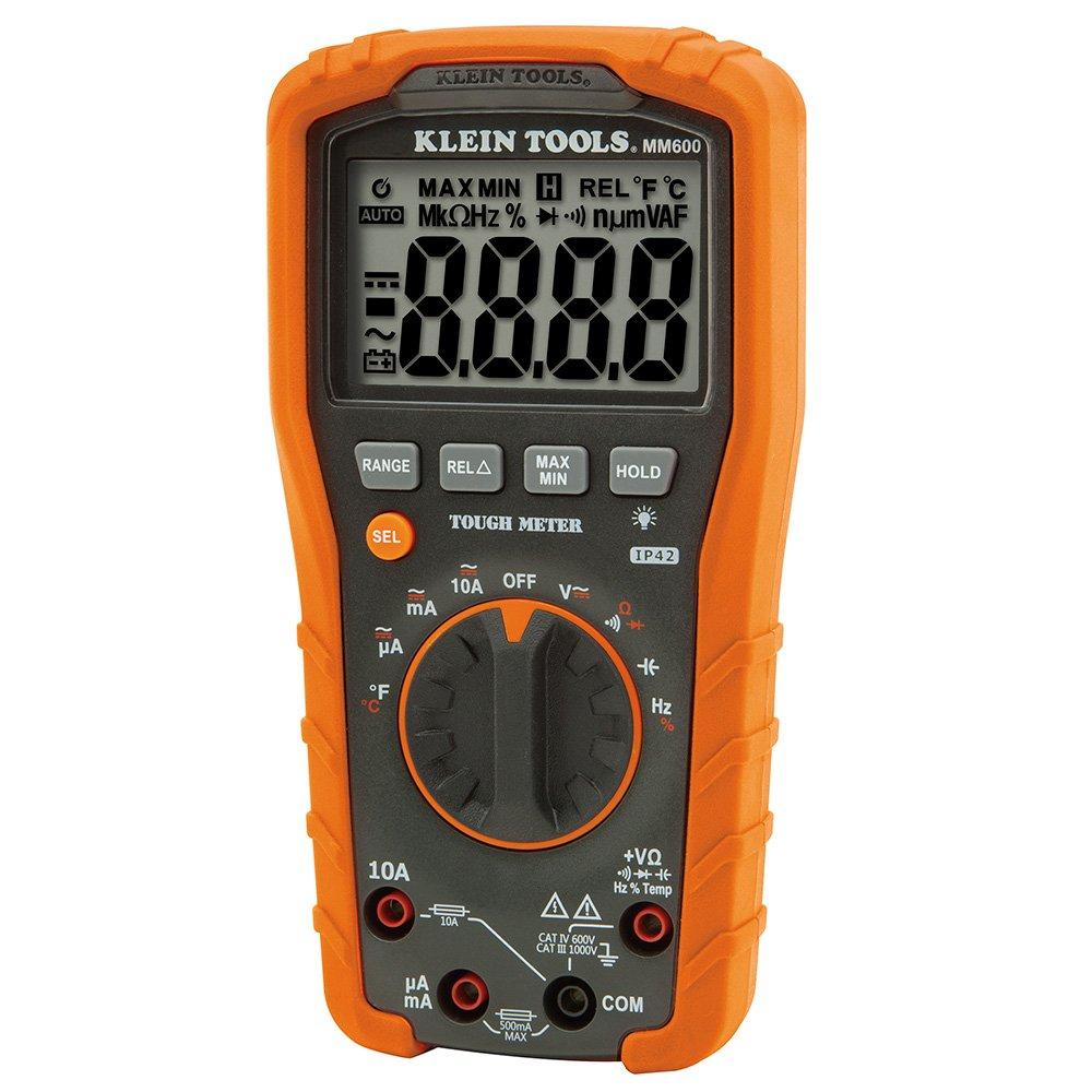 Digital Multimeter, Auto-Ranging, 1000V Klein Tools MM600