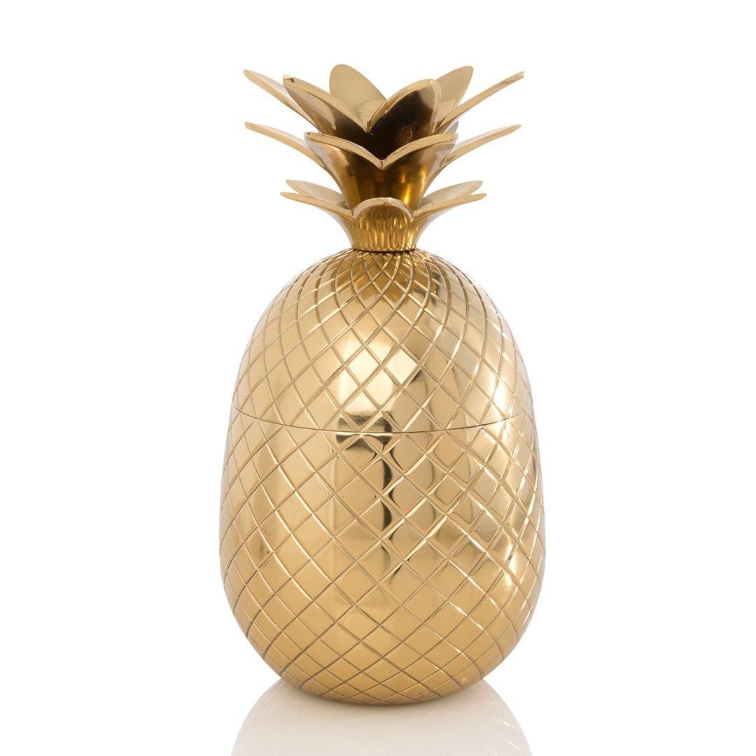 Shiraleah 20-29-006GO Pineapple Cocktail Shake