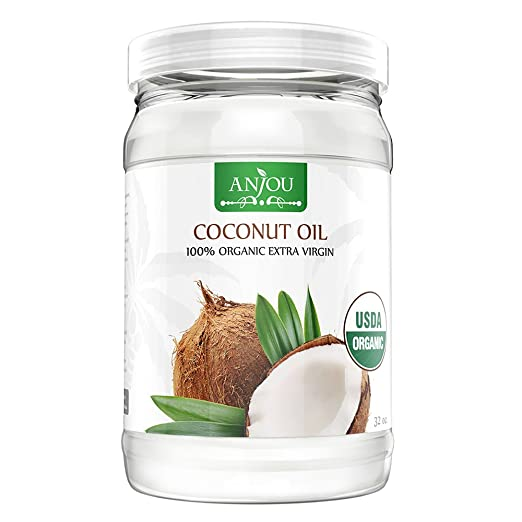 The Anjou Coconut Oil travel product recommended by Stefanie Almond on Pretty Progressive.