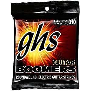 GHS Strings GBL Guitar Boomers, Nickel-Plated Electric Guitar Strings, Light (.010-.046)