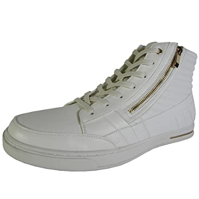 Steve Madden Men's Dagon White/Gold Shoe