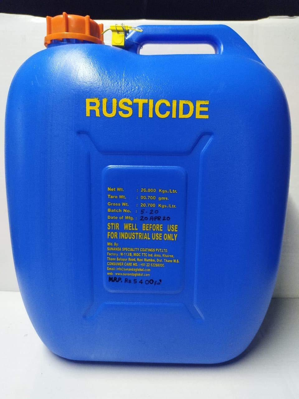 SUNANDA Rusticide (20 Ltr): Amazon.in: Industrial & Scientific