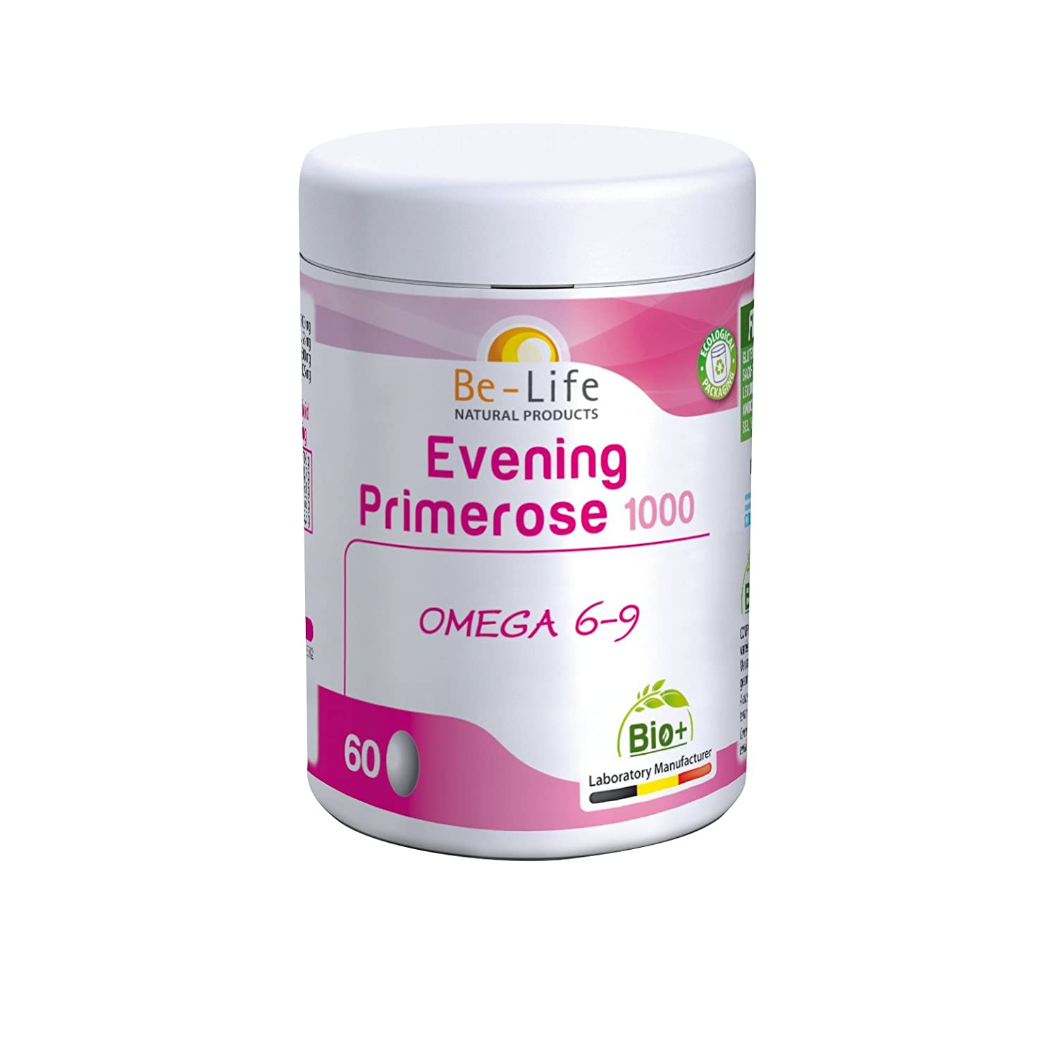 be-life Evening Primerose 1000 Bio - 60 caps.: Amazon.es: Salud y ...