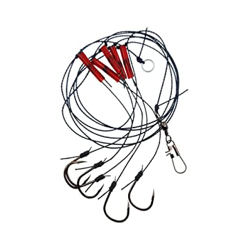 Amazon Com Lioobo Fishing Hook Set Carbon Steel Anti Wind Fishing